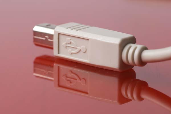 Обычный разъём USB кабеля Тип